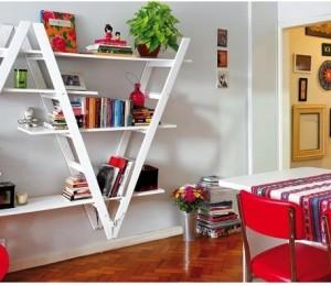 Стара стълба в интериора – креативни идеи