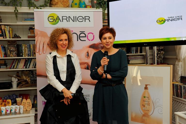 Силвия Лулчева и ст. маркетинг координатор на Garnier Лилия Чаталбашева