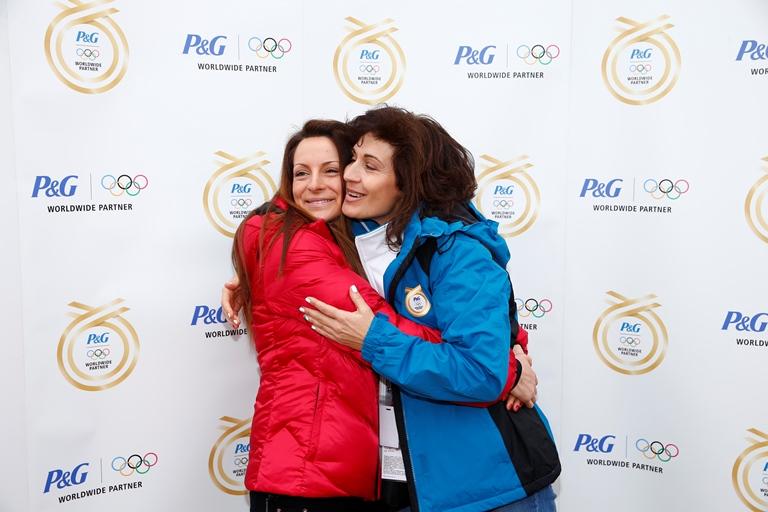 Сноубордистка No 1 на България Александра Жекова и майка й - Божана Жекова