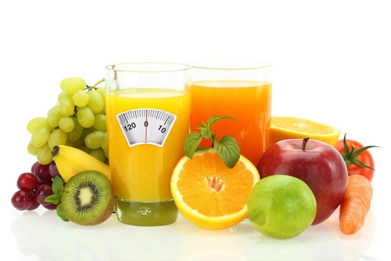 Еднодневна диета със сокове
