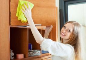Почистване на мебелите според материала им