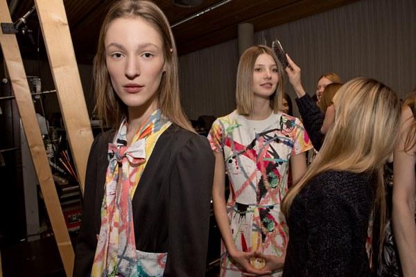 Franzi Muller launches P&G Future Fabrics Giles Deacon Show_1