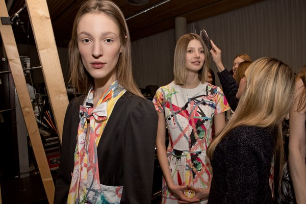 Future Fabrics Giles Deacon Show