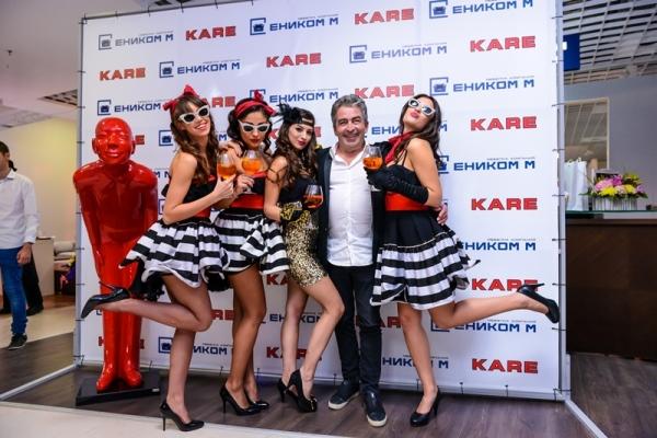 Питър Шьонхофен, създател и управител на KARE Design